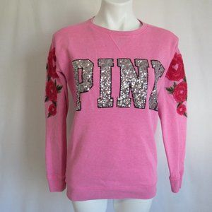 Victoria's Secret PINK Sequin Sweatshirt XS